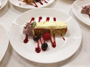 Kent - serving wedding cake